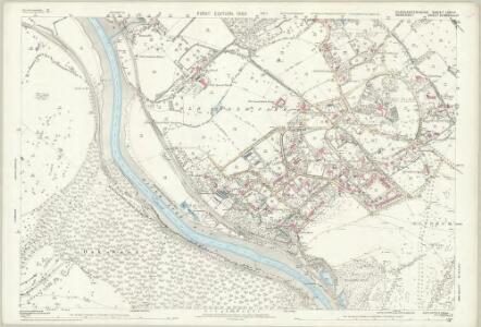 Gloucestershire LXXI.11 (includes: Abbots Leigh; Bristol) - 25 Inch Map