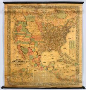 Standard American Map.