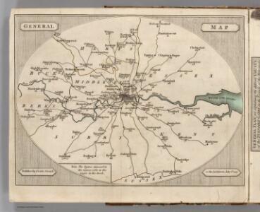 General Map (London Environs).