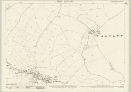 Buckinghamshire XXIII.11 (includes: Creslow; Whitchurch) - 25 Inch Map