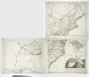United States of Nth. America = Carte des Etats-unis de l'Amérique septentrionale / copiée et gravée sur celle d'Arrowsmith; corrigée et considérablement augmentée d'après les renseignemens les plus authentiques par P.F. Tardieu, graveur, editeur-propriétaire, Place de l'Estrapade, No. 18. à Paris, an XL 1802; ecrit par J.J. Pachoux; Chles. Picquet, géographe-graveur ...