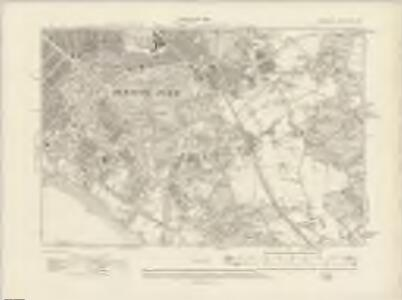 Lancashire CXIII.NE - OS Six-Inch Map