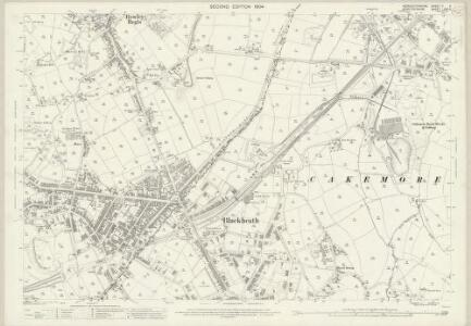 Worcestershire V.5 (includes: Hill and Cakemore; Oldbury; Rowley Regis) - 25 Inch Map