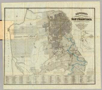 Bancroft's Official Guide Map Of City And County Of San Francisco.