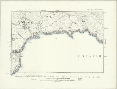 Cornwall LXXXIV.NE - OS Six-Inch Map