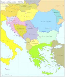 Südosteuropa 1992