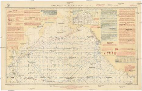 Pilot chart of the North Pacific Ocean