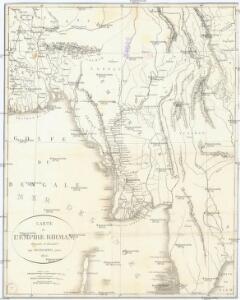 Carte de l'Empire Birman