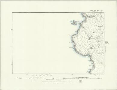 Cornwall LXXXIV.NW - OS Six-Inch Map