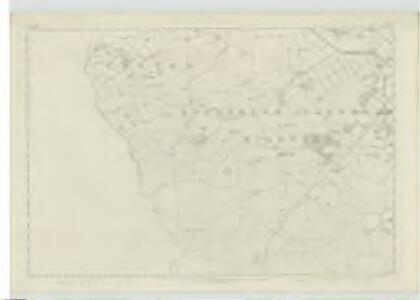 Peebles-shire, Sheet XV - OS 6 Inch map