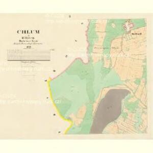 Chlum - c2505-1-002 - Kaiserpflichtexemplar der Landkarten des stabilen Katasters