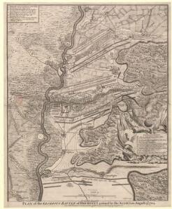 Plan of the glorious Battle of Hochstet