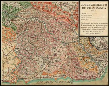 Manuscrit: Corregimiento de Villafranca