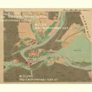 Frain - m3469-1-006 - Kaiserpflichtexemplar der Landkarten des stabilen Katasters