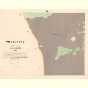 Przisnitz - c6247-1-002 - Kaiserpflichtexemplar der Landkarten des stabilen Katasters