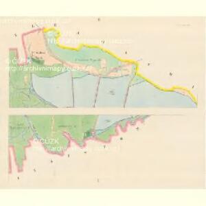 Wodnian - c8719-1-001 - Kaiserpflichtexemplar der Landkarten des stabilen Katasters