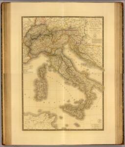 Composite: Italie, Suisse, Illyrie.