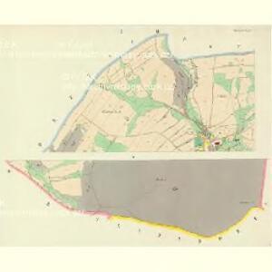 Wichstadtl (Mlatkow) - c4739-1-001 - Kaiserpflichtexemplar der Landkarten des stabilen Katasters