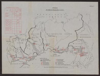 Standorte der höheren Kommandos in Asien