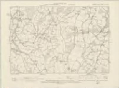 Sussex XLII.SW - OS Six-Inch Map