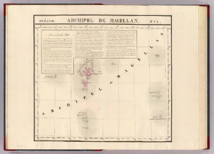 Archipel de Magellan. Oceanie no. 1.