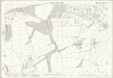 Shropshire LXXVIII.6 (includes: Bromfield; Burrington) - 25 Inch Map