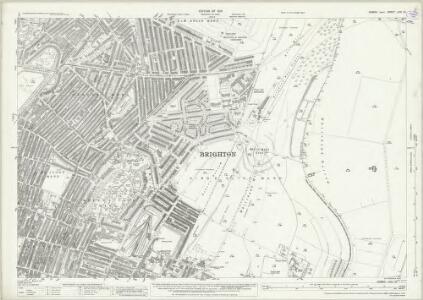 Sussex LXVI.10 (includes: Brighton) - 25 Inch Map