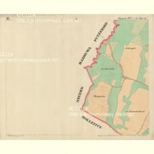 Bistritz - c0723-1-003 - Kaiserpflichtexemplar der Landkarten des stabilen Katasters