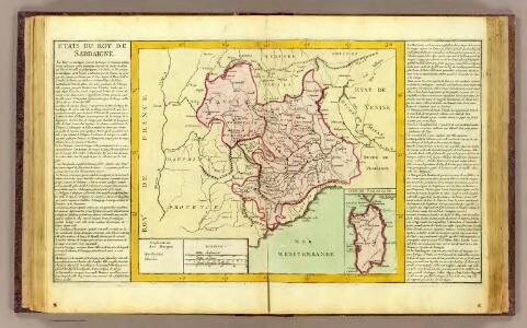 Etats du Roy de Sardaigne.