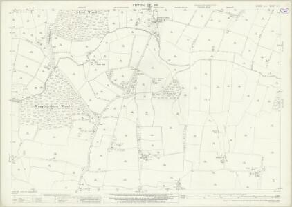 Sussex LI.4 (includes: Ashurst; Steyning) - 25 Inch Map