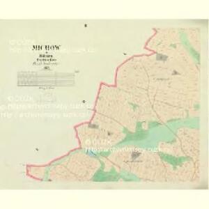 Michow - c4777-1-002 - Kaiserpflichtexemplar der Landkarten des stabilen Katasters