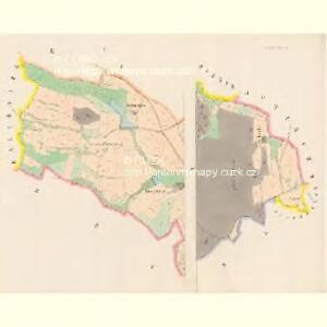 Stiechowitz - c7764-1-001 - Kaiserpflichtexemplar der Landkarten des stabilen Katasters