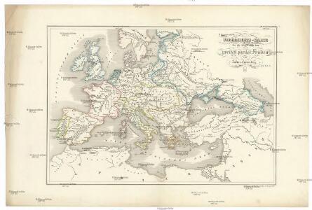 Uebersichts-Karte für die Zeit nach dem zweiten pariser Frieden
