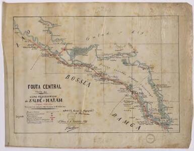Fouta central. Ligne télégraphique de Saldé à Matam