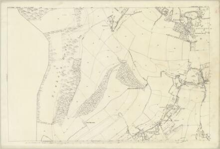 Hampshire and Isle of Wight XCV.13 (includes: Gatcombe; Newport) - 25 Inch Map