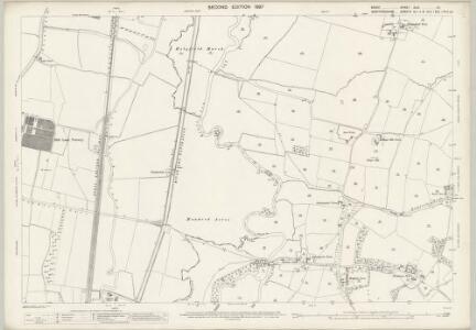 Essex (1st Ed/Rev 1862-96) XLIX.10 (includes: Cheshunt; Waltham Holy Cross) - 25 Inch Map