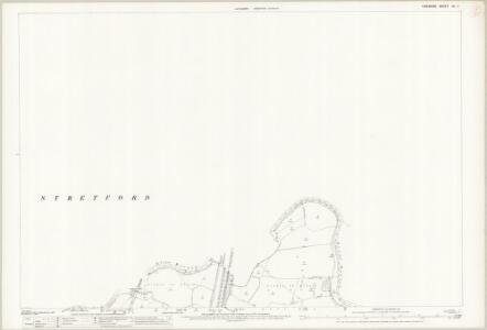 Cheshire IX.7 (includes: Manchester; Sale; Stretford) - 25 Inch Map