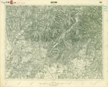 III. vojenské mapování 4661