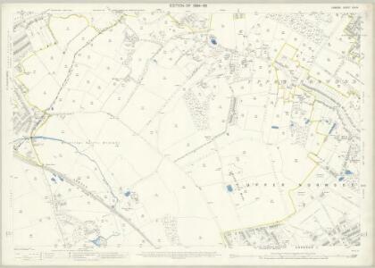 London (Edition of 1894-96) CXLIV (includes: Croydon St John The Baptist) - 25 Inch Map