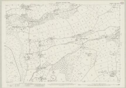 Cornwall XXVIII.7 (includes: Linkinhorne; St Ive) - 25 Inch Map