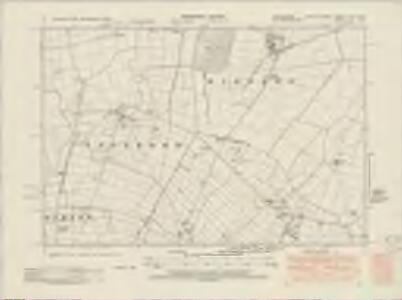 Lincolnshire LXIX.SW - OS Six-Inch Map
