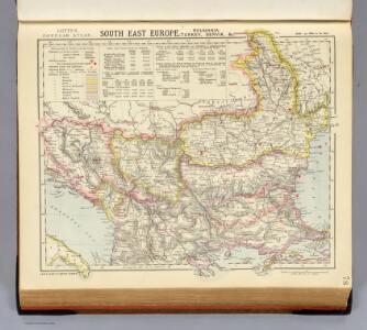 S.E. East Europe, Roumania, Turkey, Servia.