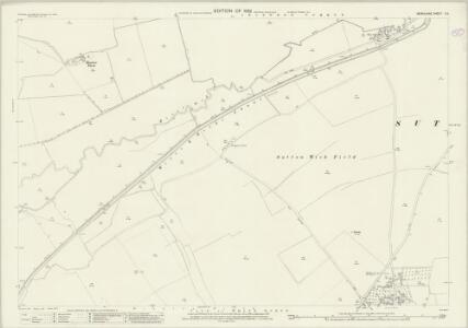 Berkshire X.9 (includes: Abingdon; Abingdon St Helen Without; Drayton; Marcham) - 25 Inch Map