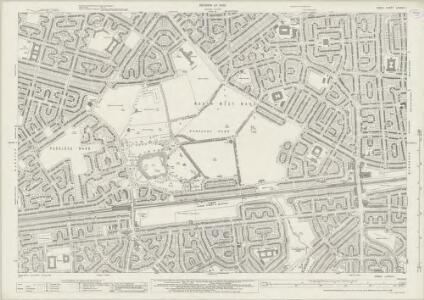 Essex (New Series 1913-) n LXXXVII.1 (includes: Barking; Dagenham) - 25 Inch Map