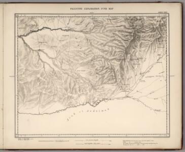Sheet XXIV.  Palestine Exploration Map.