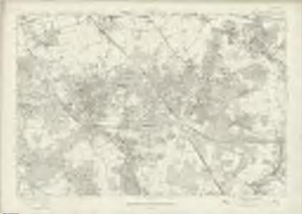 London Sheet T - OS Six-Inch Map