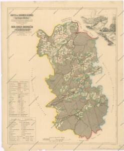 Soubor map okresů Pražského kraje