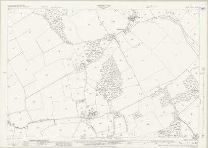 Kent XXXVI.5 (includes: Hoath; Sturry) - 25 Inch Map