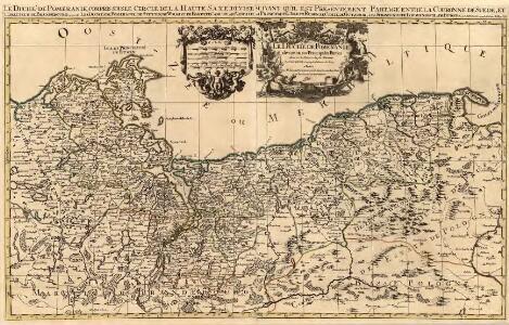 Le Duché de Pomeranie divisé en ses Principales Parties