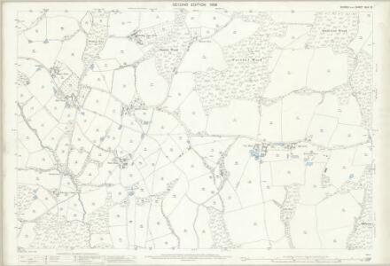 Sussex XLIV.2 (includes: Ewhurst) - 25 Inch Map